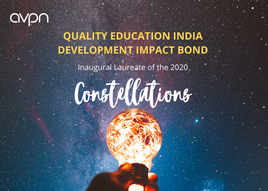 QEI Chosen as Inaugural AVPN Constellation Laureate